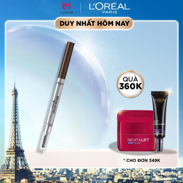 Chì kẻ mày 2 đầu L'Oreal Paris Brow Artist Xpert 0.2g giá rẻ