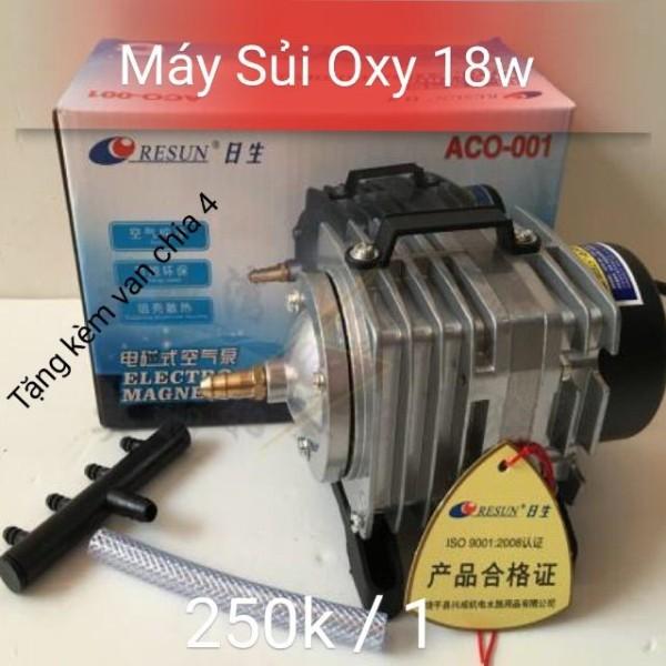 Máy oxy 18w Resun Aco - 001 - tặng kèm van chia 4 - Guppy Xanh cam kết hàng đúng mô tả chất lượng đảm bảo