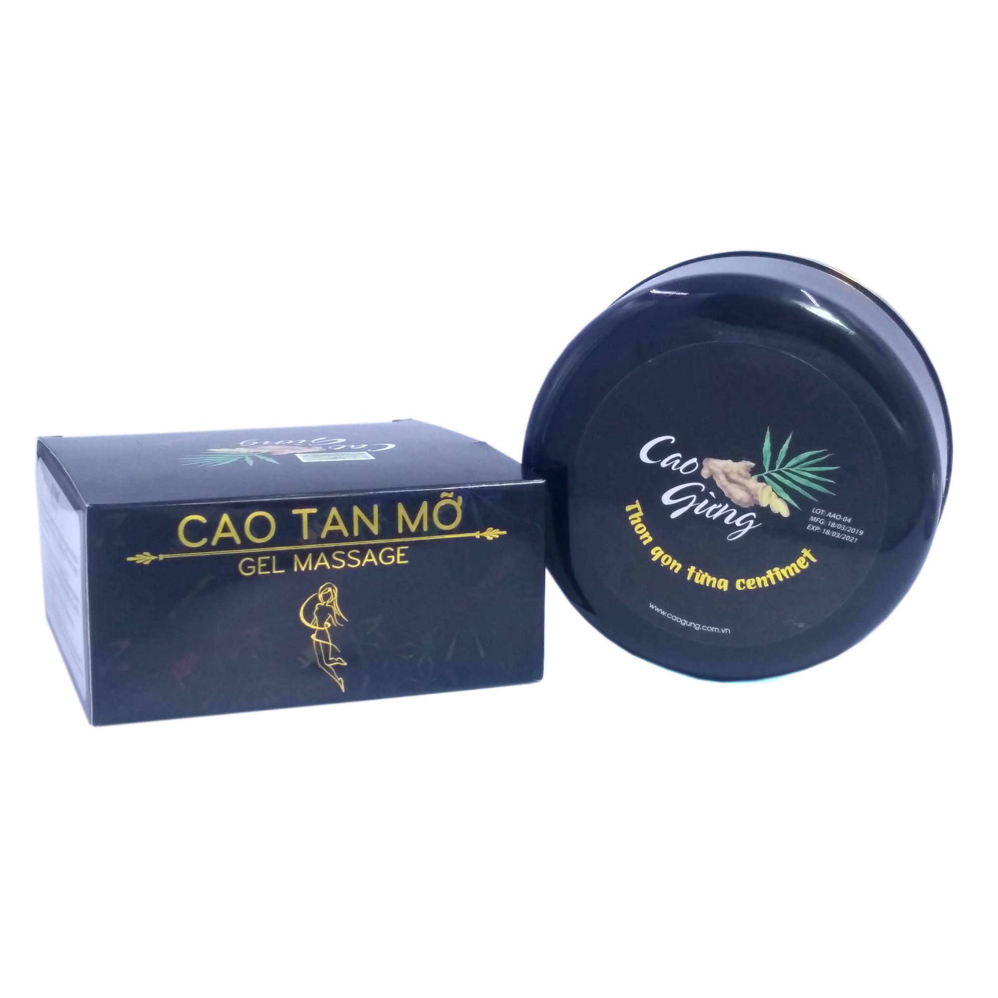 Cao gừng tan mỡ thon gọn từng centimet Thiên Nhiên Việt 200g (Đen) cao cấp
