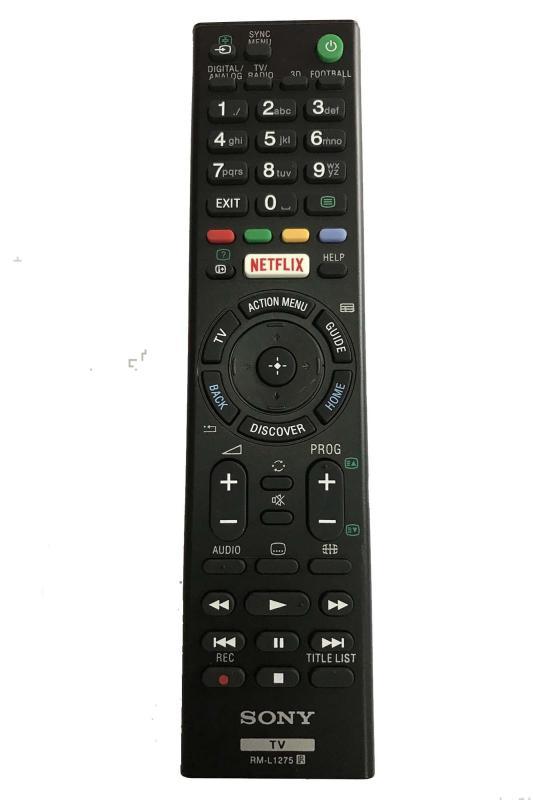 Bảng giá Điều khiển smart tivi sony RM - 1275 (đen)