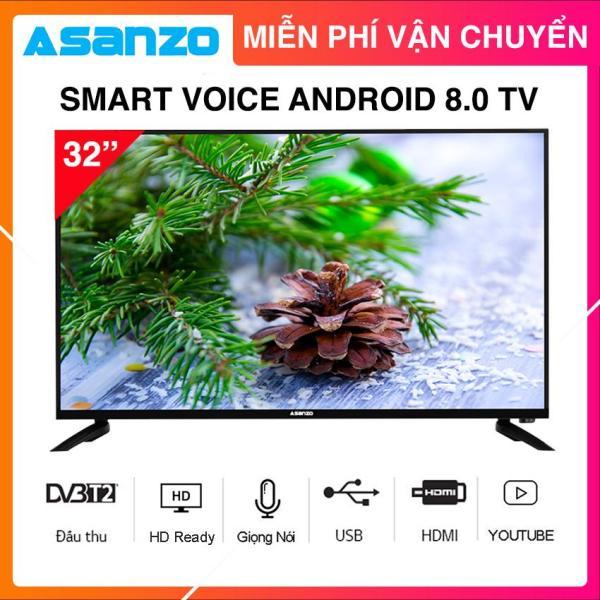 Bảng giá Smart Voice Tivi Asanzo 32 inch HD ISLIM - Model 32SL500 (HD Ready, Android 8.0, Tìm Kiếm Giọng Nói, Kết Nối Điện Thoại, Viền Kim Loại, Khắc Phục Lỗi Youtube) Tivi Giá Rẻ - Bảo Hành 2 Năm Điện máy Pico