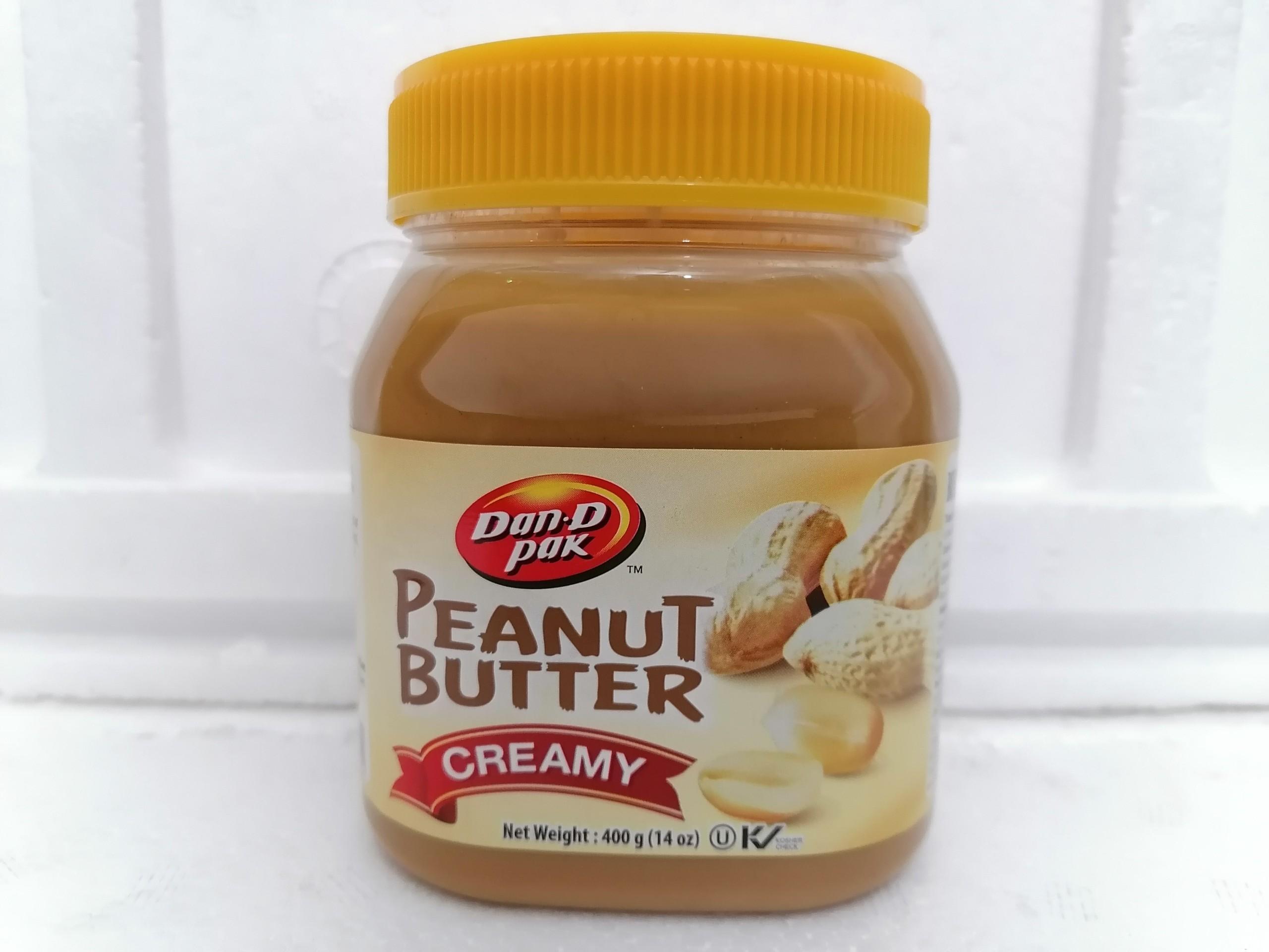 Bơ đậu phộng mịn DAN-D PAK Peanut Butter Creamy 400g