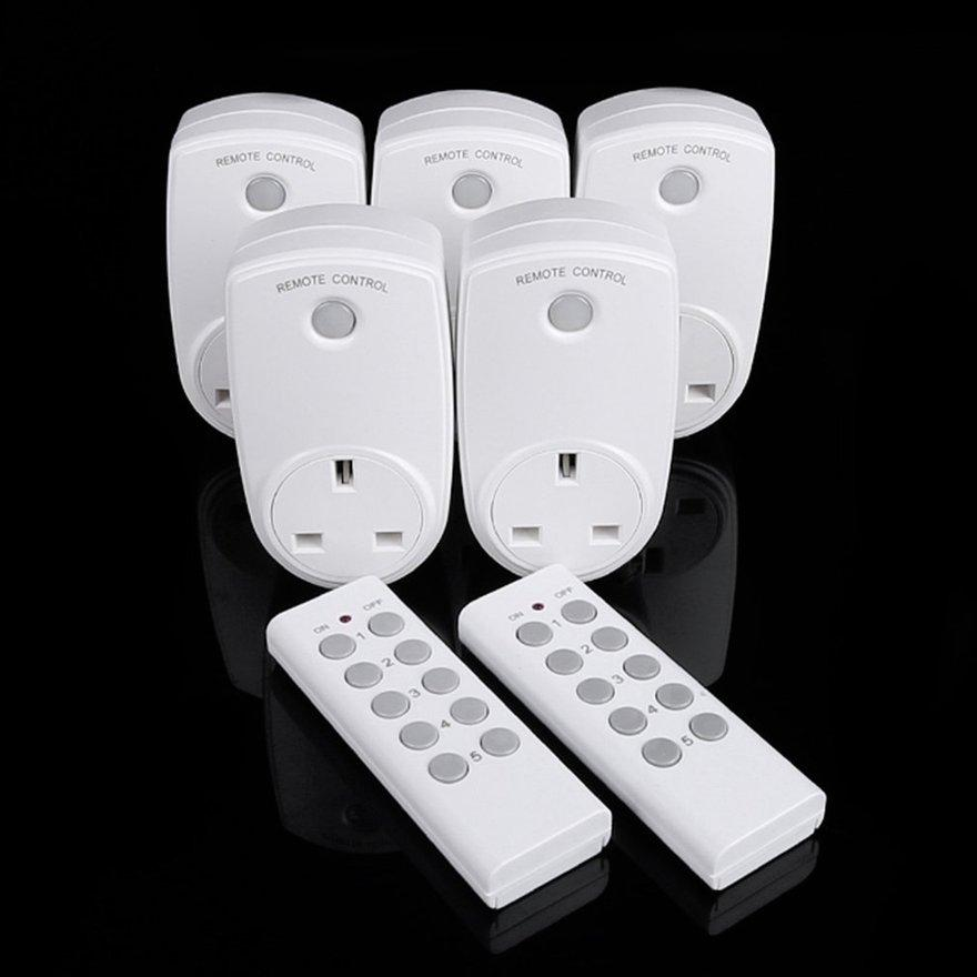 Cozy 10A Home Wireless Smart Remote Control Power Outlet Wifi Socket Switch