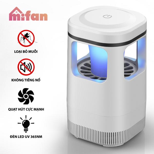 Đèn Bắt Muỗi Quạt Hút Thông Minh 2021 MIFAN - Không Gây Tiếng Ồn - Nhựa ABS Siêu Bền - HÀNG CHÍNH HÃNG