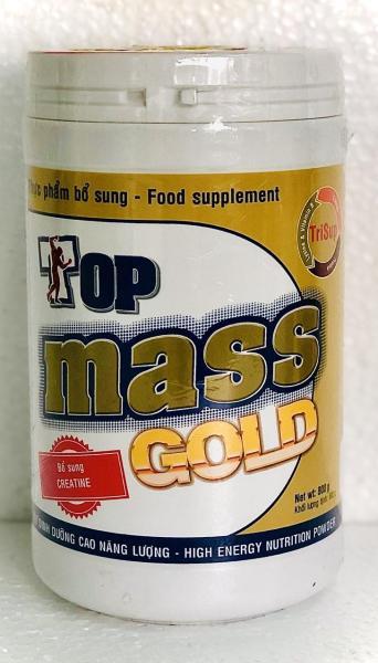 Sữa bột Top Mass Gold vị vani 800g tăng cân giá rẻ