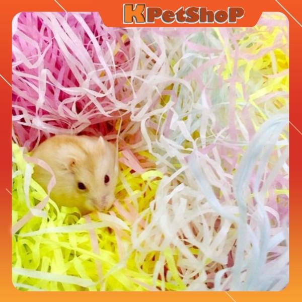 Rơm giấy tạo ổ ngủ cho Hamster, Sóc Bay Úc, Sóc Bông, Sóc Đất, Hamster mẹ ấp con...