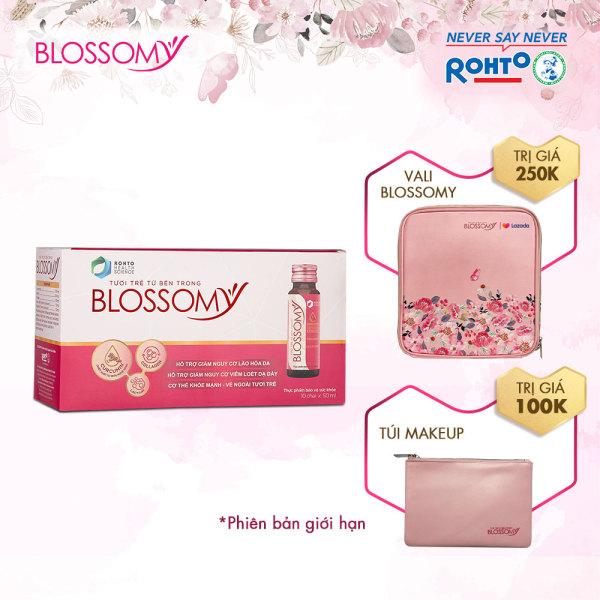 Bộ Sản Phẩm Bổ Sung Collagen Blossomy Lốc 10 Phiên Bản Đặc Biệt Lazada