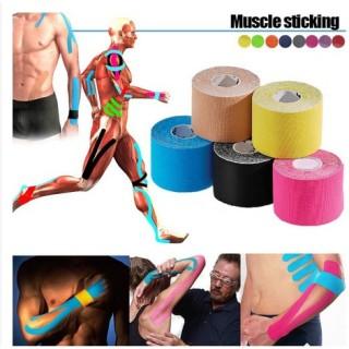 Băng dán cơ thể thao 5CM X 5M chống chấn thương thể thao - Băng keo vải thể thao thumbnail