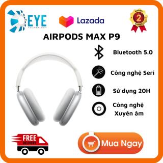 [Flash Sale 50%] Tai nghe chụp tai Bluetooth AirPods Max P9, Nghe Nhạc Bass Mạnh, Công Nghệ Chống Ồn ANC, Xuyên Âm, Pin Trâu Sử Dụng 20H, Thiết Kế Hiện Đaị, Đa Dạng Màu Sắc Phù Hợp Với Mọi Người, Dùng Cho Iphone, SamSung, Xiaomi... thumbnail