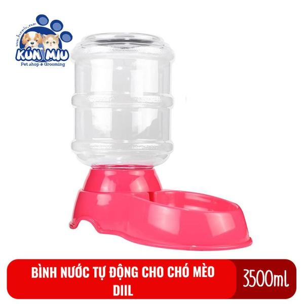 Bình nước tự động cho chó mèo 3500ml Diil LS 147 Kún Miu