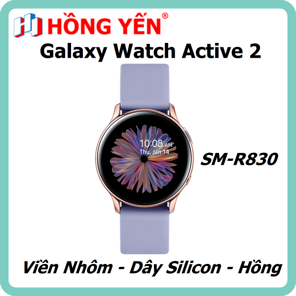 Đồng hồ thông minh Samsung Galaxy Watch Active 2 40mm Nhôm (SM-R830) - Hàng Chính Hãng