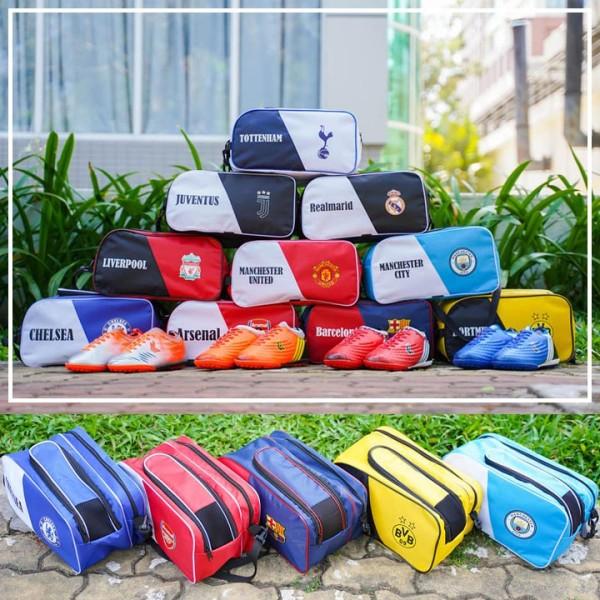 Túi đựng giày đá bóng túi 2 ngăn clb túi thể thao túi du lịch [ hàng chất lượng], sản phẩm tốt với chất lượng và độ bền cao, được cam kết sản phẩm y như hình