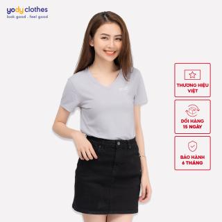 Áo phông nữ cổ tim chất liệu 95% cotton nhiều màu có cả áo nam PPN4138 thumbnail