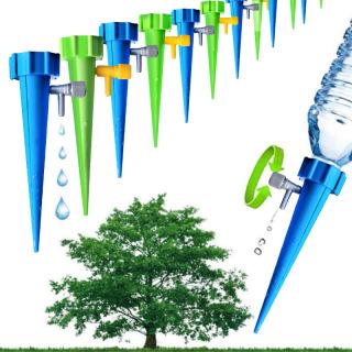 Đầu tưới nhỏ giọt gắn vỏ chai nhựa có đầu béc điều chỉnh lưu lượng tưới phù hợp với hầu hết các loại vỏ chai từ 15 lít trở xuống thumbnail