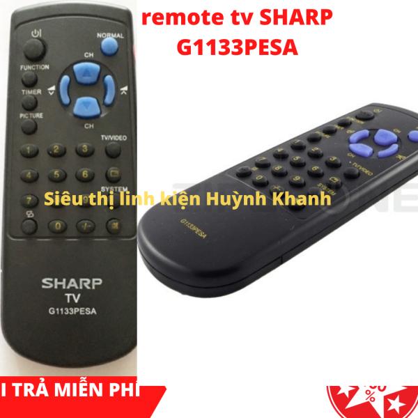 Bảng giá REMOTE TV SHARP G1133PEAS (ĐỜI CŨ) CHÍNH HÃNG
