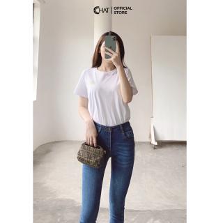 Quần jeans skinny mài Cchat Clothes thumbnail