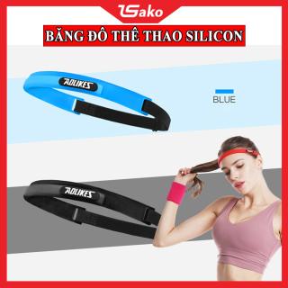 Băng Đô Tập Gym - Băng đô trán thể thao silicon, ngăn mồ hôi thời trang co giãn thumbnail