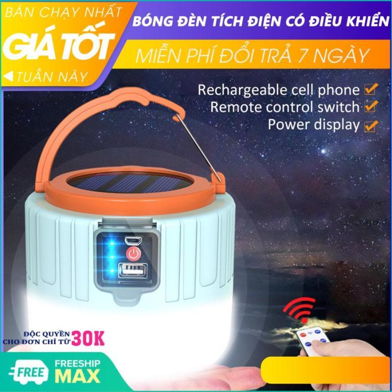 Bóng đèn led - bóng đèn led sạc tích điện - Bóng đèn tích điện, đèn tích điện năng lượng mặt trời có điểu khiển, đầu cắm USB, đèn led tích điện, đèn năng lượng mặt trời, có đầu cắm sạc, công suất 100W