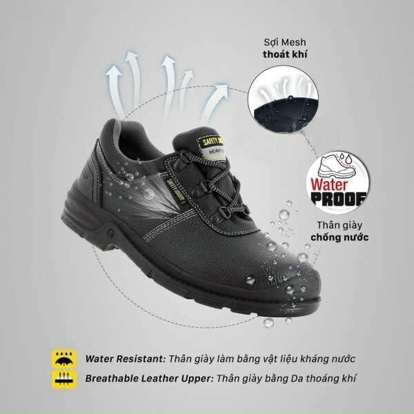Giày Bảo Hộ Lao Động Jogger Bestrun S3 ,giày bảo hộ lao động bằng da bò,chống đinh ,va đập ,trơn trượt
