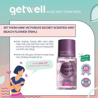 Xịt thơm mini Victoria s Secret scented Mist Beach Flower (75ml) thumbnail