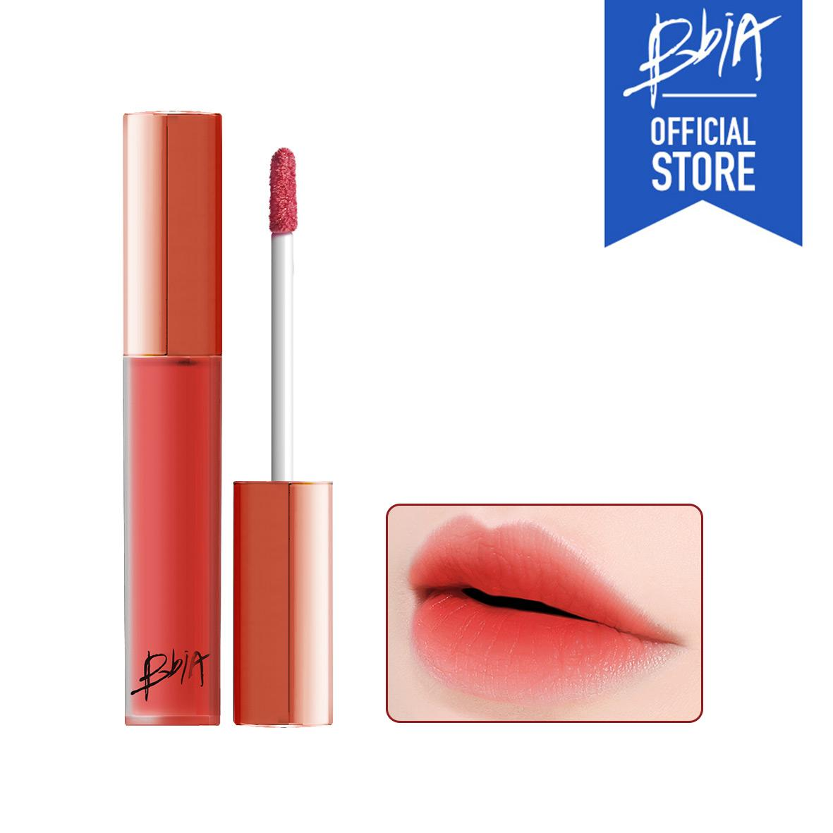 Son kem lì Bbia Last Velvet Lip Tint màu 17 - cam hồng coral