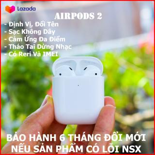 [BẢO HÀNH 6 THÁNG] Tai Nghe Airpods 2 Airpod Không Dây Bluetooth thumbnail