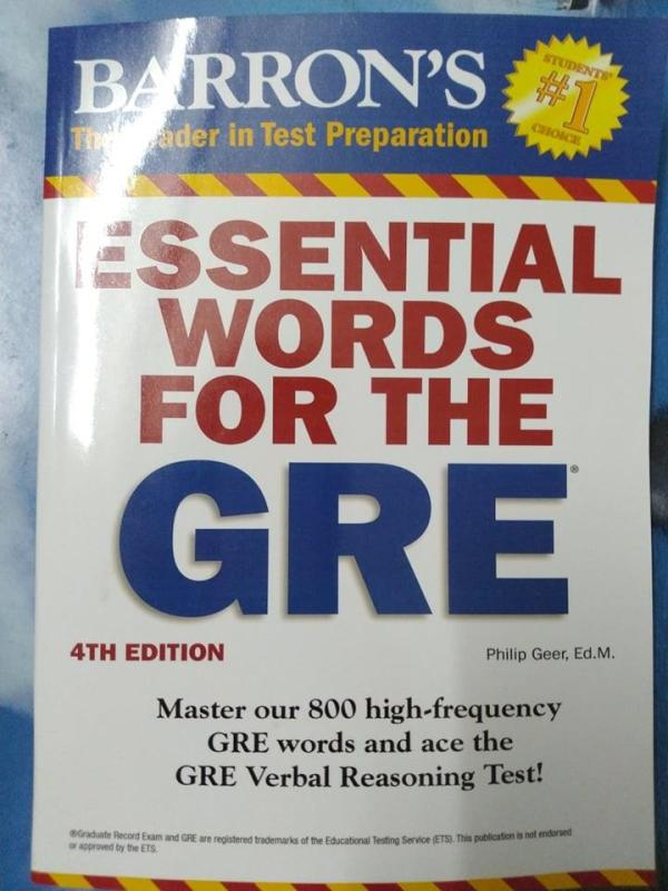 Essential Words for the GRE, 2016