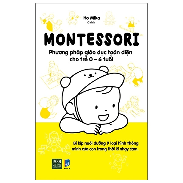 Mua Fahasa - Montessori - Phương Pháp Giáo Dục Toàn Diện Cho Trẻ 0-6 Tuổi
