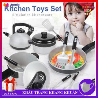 Bộ Đồ Chơi Nấu Ăn - Kitchen Set 36 Món Cao Cấp - Chất Liệu An Toàn, Thiết Kế Chân Thực Tỉ Mỉ - Đồ Chơi Làm Bếp Cho Bé Thỏa Sức Sáng Tạo thumbnail