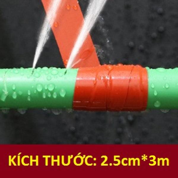 Băng keo siêu dính vá ống nước rò rỉ| 2.5cm x 3m | Tặng dao cắt băng keo 39k - DOCONU - băng keo chống thấm ống nước, băng keo quấn ống nước, băng keo dán chống nước, miếng dán chống rò rỉ nước[ CAM KẾT BẢO HÀNH ]