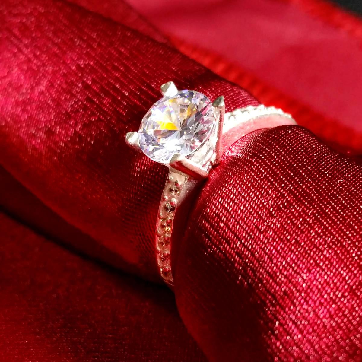 Nhẫn bạc nữ Panmila đính đá cao cấp (TSNN.A8)