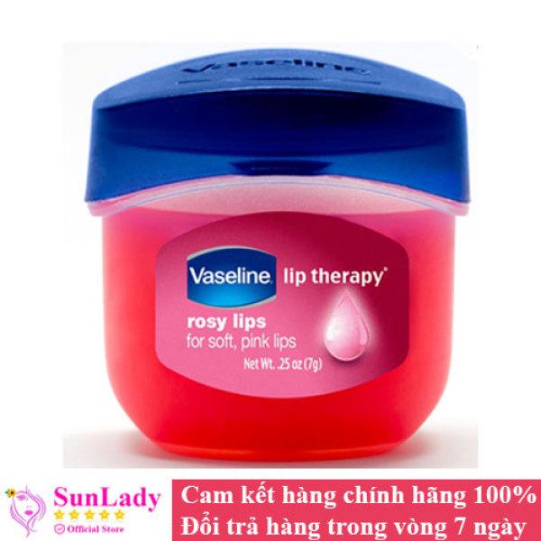 Sáp Dưỡng Môi Hồng Xinh Vaseline Lip Therapy Rosy Lips 7g