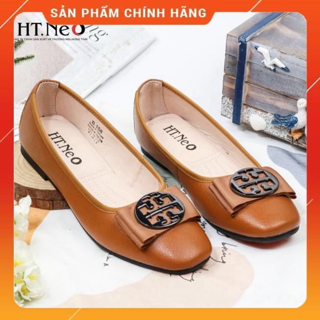 Giày Búp Bê Da Bò Nguyên Miếng Nu67- Màu Vàng Bò giá rẻ