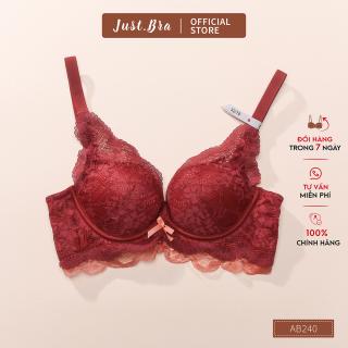 Áo ngực không gọng Just Bra mút đệm êm dày khoảng 3cm ôm nâng ngực hiệu quả AB240 thumbnail