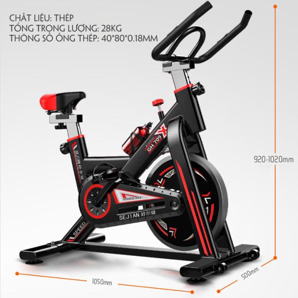 Xe đạp tập thể dục tại nhà - xe đạp tập gym GH Bike