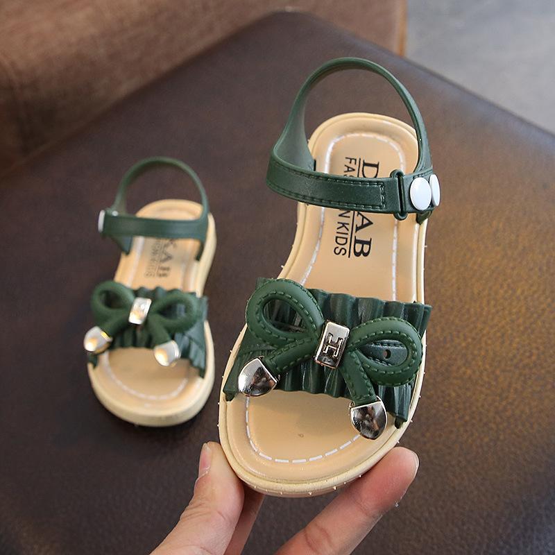 Giá bán Dép sandal cho bé gái - có nơ xinh xắn