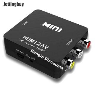 Cáp Chuyển Đổi Jettingbuy HDMI Sang RCA AV Cáp Chuyển Đổi CVBS 3RCA 1080P Âm Thanh Video Tổng Hợp thumbnail
