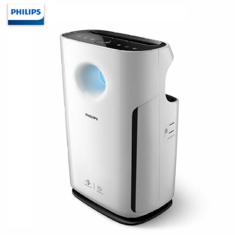 Máy lọc không khí cao cấp Philips AC3256 với cảm biến chất lượng không khí 4 màu công suất 60W ( Màu trắng)