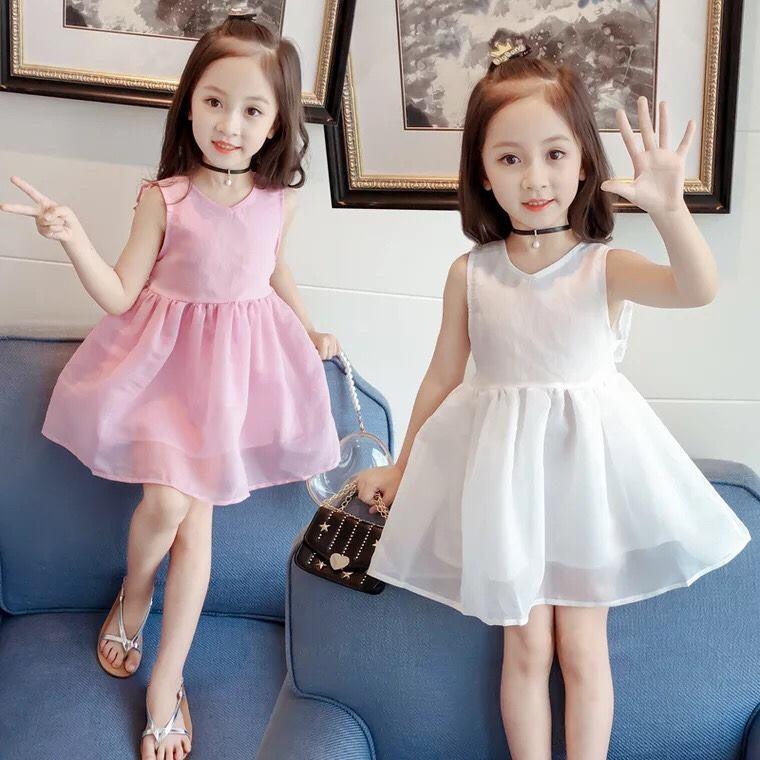 Váy công chúa 2 lớp cực xinh cho bé gái