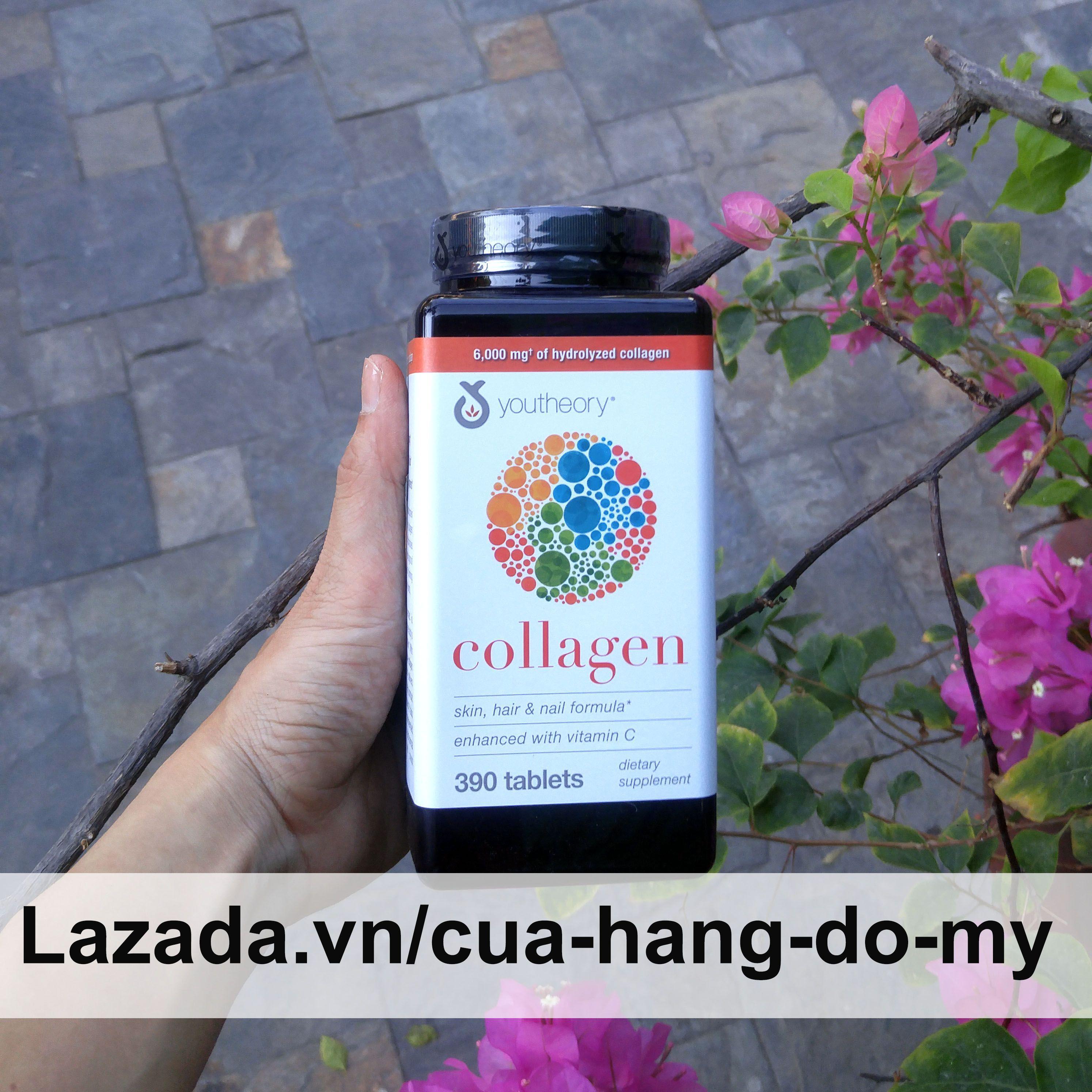 Viên Uống Collagen Youtheory Advanced Formula 390 Viên - MẪU MỚI nhập khẩu