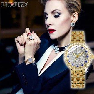 [Hàng Mới Về] Đồng hồ nữ LUXURY Đính Đá Sang Trọng - Tặng Kèm Pin ĐH Dự Phòng - Bảo Hành chính hãng 12 tháng thumbnail