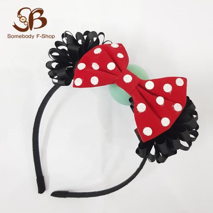 Băng đô cài tóc Minnie