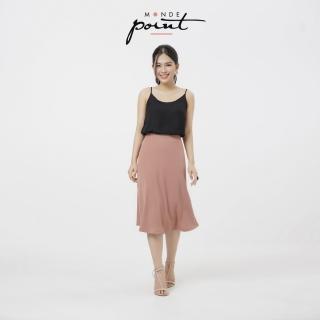 Chân váy xòe nữ Monde Point MPWA0716110, kiểu dáng nữ tính, màu sắc trang nhã, dễ phối với nhiều trang phục, phụ kiện khác nhau thumbnail