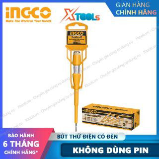 Bút thử điện có đèn INGCO 100-500V an toàn tuyệt đối cho người sử dụng, nhựa siêu bền chắc chống va đập [XTOOLs][XSAFE] thumbnail