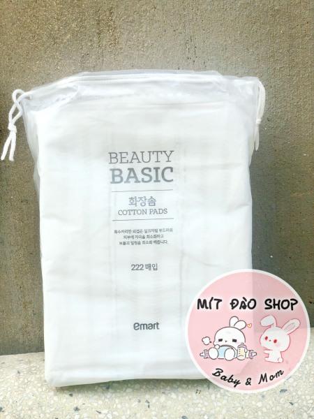 Bông tẩy trang cotton pad Emart 222 miến