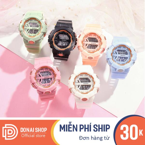 Nơi bán Đồng hồ thời trang thể thao nam nữ Sport S158 mặt tròn hiển thị full chức năng, dây cao su bền bỉ có chống nước