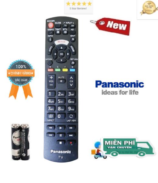 Bảng giá Điều khiển tivi Panasonic hàng chính hãng theo TV 100% - ALEX - TẶNG KÈM PIN