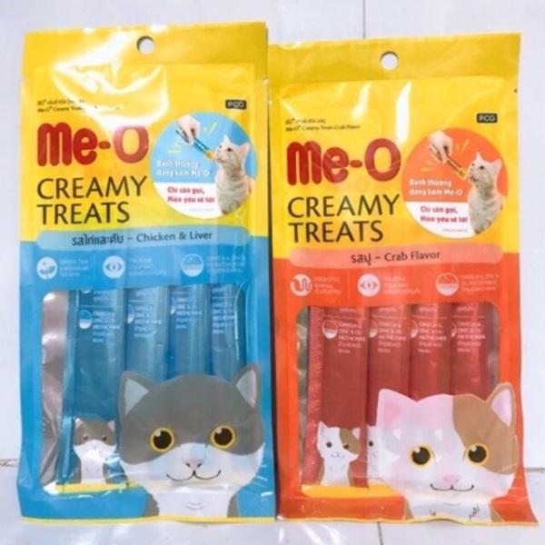 Súp thưởng dinh dưỡng cho mèo ME-O 60g