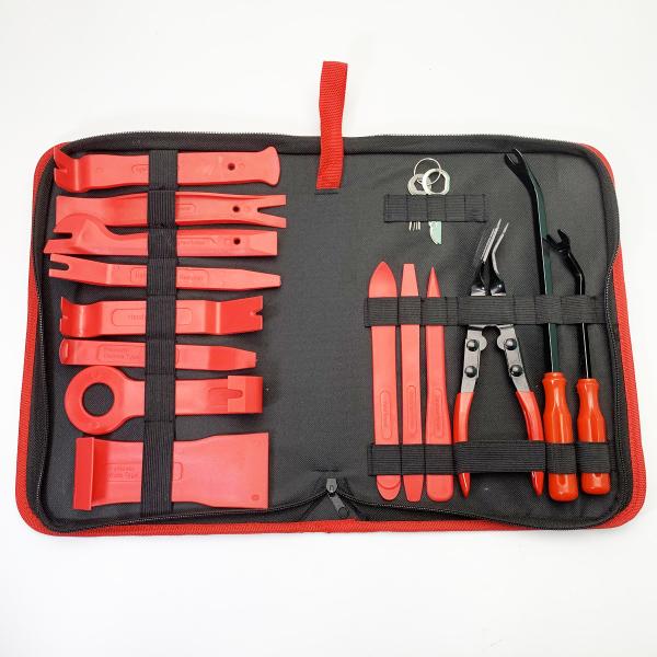 Dụng cụ cạy & tháo đồ nhựa ô tô, xe máy, laptop đa năng 15 chi tiết