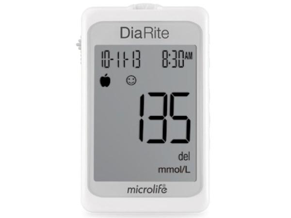 Nơi bán Máy đo đường huyết Microlife DiaRite BGM BH chính hãng - Kèm 50 Que Kim ( Thương hiệu Thụy Sĩ)
